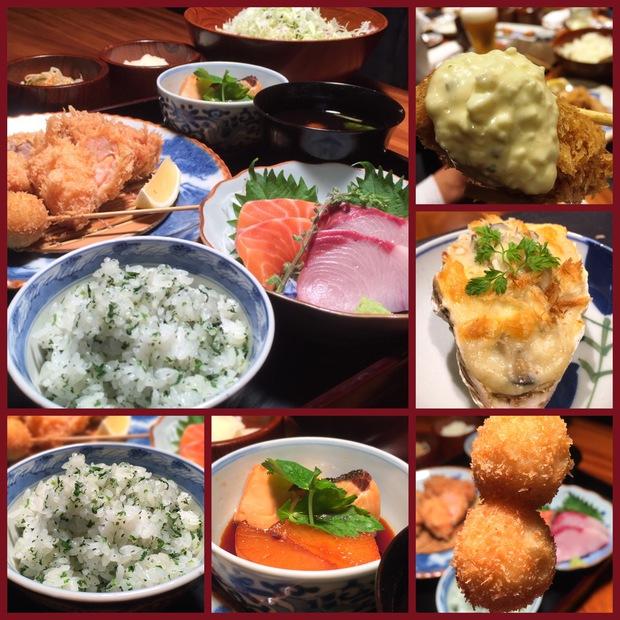 日比谷かつ吉冬のお料理